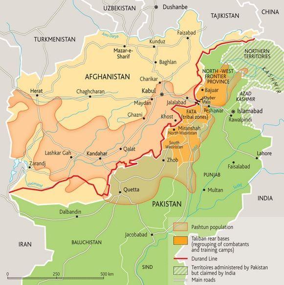 Oriente Medio – Asia – Conflictos – Historia – Cultura – Línea Durand pastunes AfPak