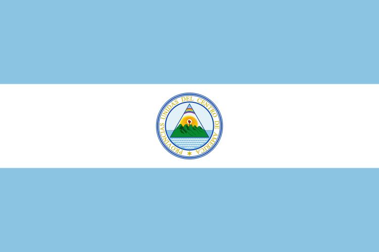 Bandera de las Provincias Unidas del Centro de América