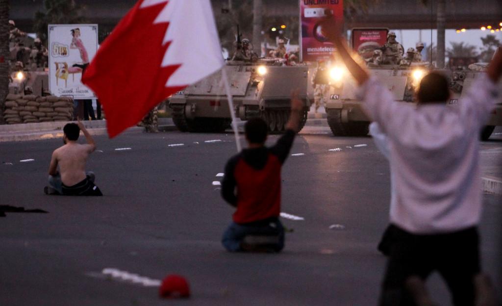 África-Oriente Medio-Egipto-Primavera árabe- protestas Bahrein