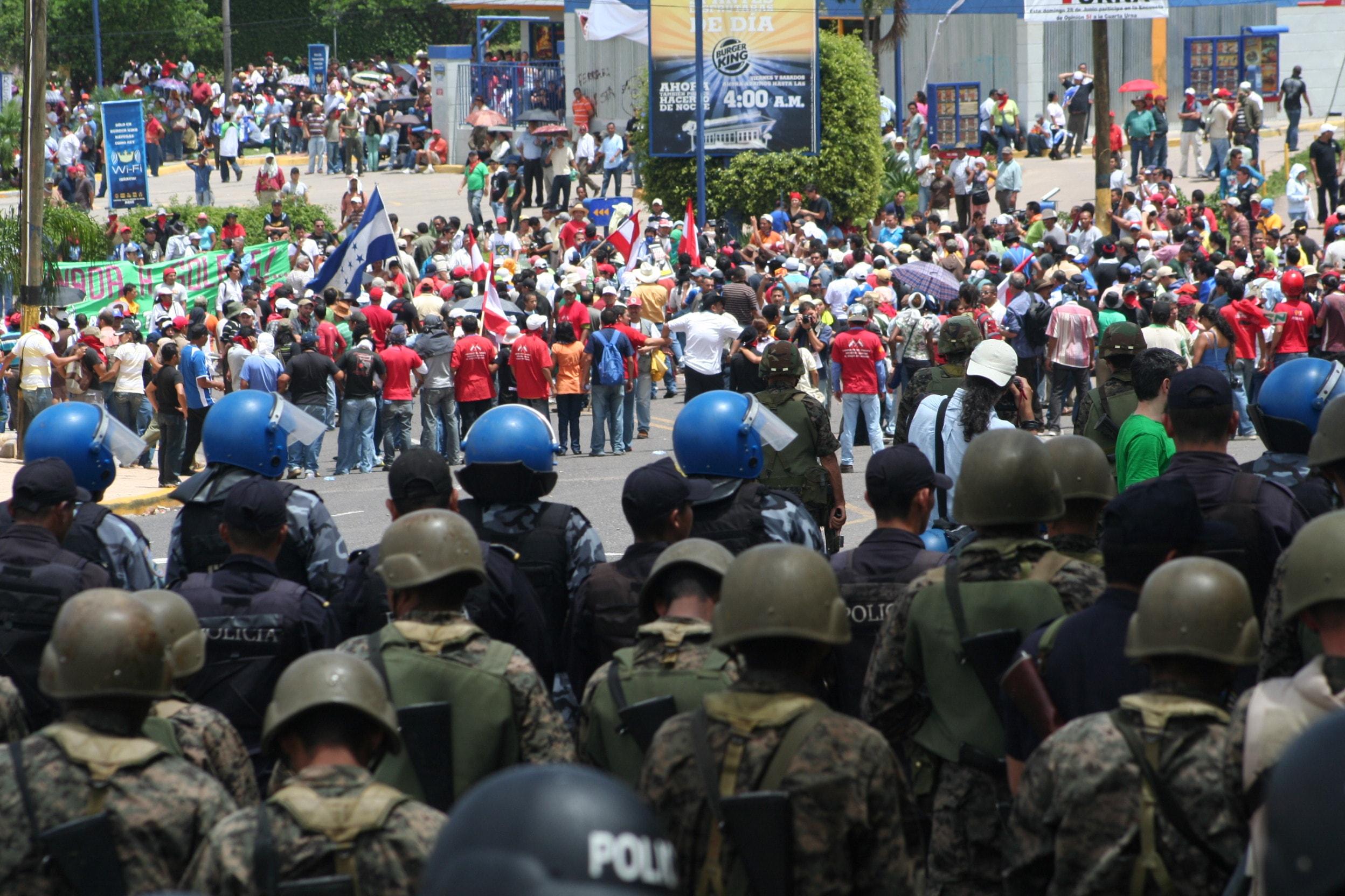 América-Honduras-Golpe de Estado