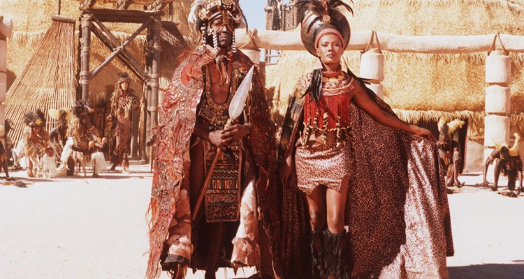 March 1999 Cannes France Shaka Zulu: The Citadel The Epic Mini Series Chronicling The Life Of The