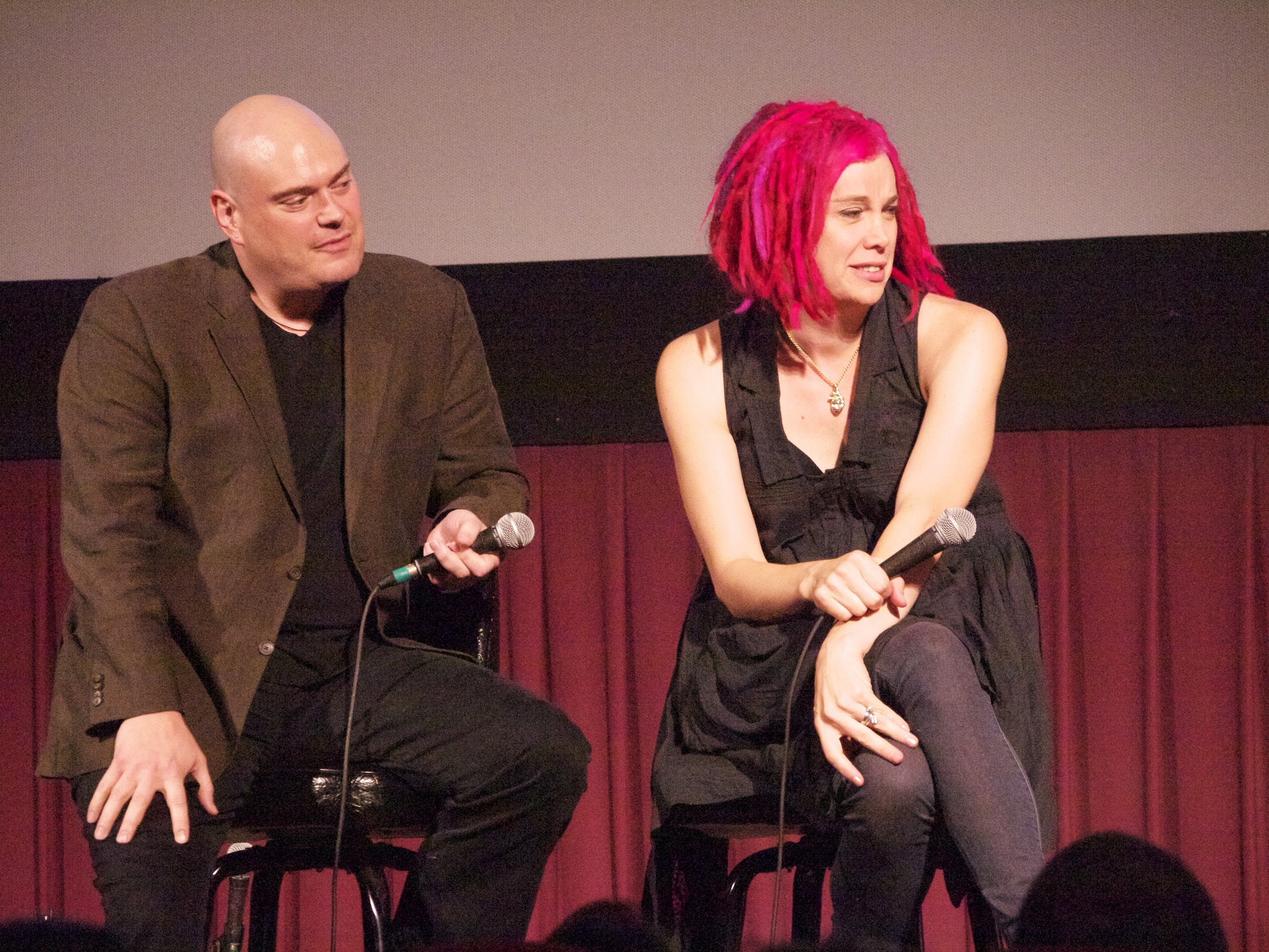 Wachowski brothers in picture matrix to sister with sex change