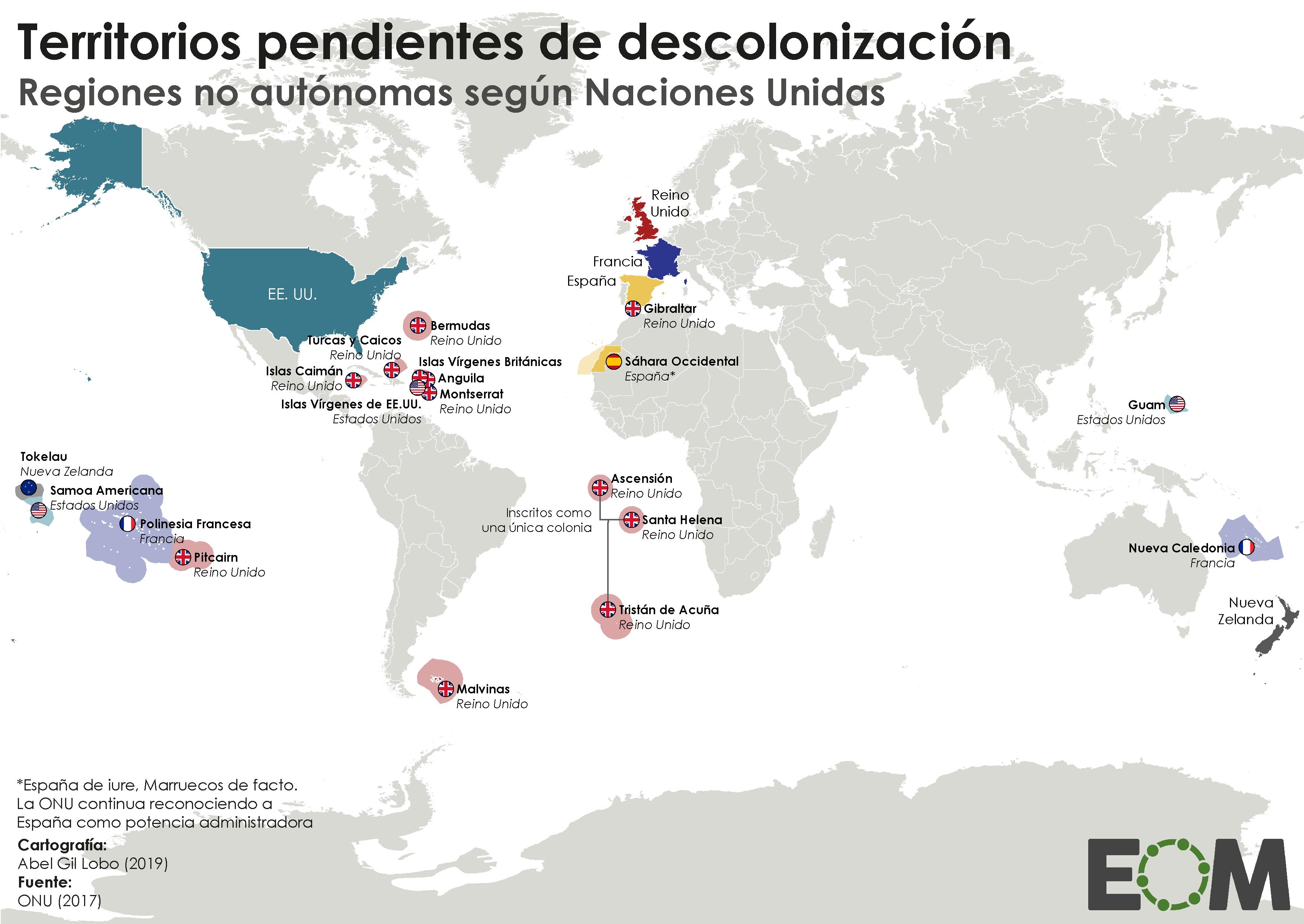 Mapa Politico De Francia 2019.Cuales Son Las Colonias Que Todavia Quedan En El Mundo